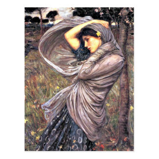 John Waterhouse - Boreas, 1903, kunstwerk Briefkaart