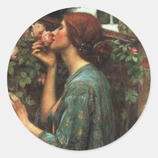John William Waterhouse, Mijn Snoepje nam toe Ronde Sticker