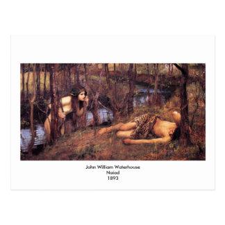 John William Waterhouse - Najade Briefkaart