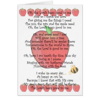 Johnny Appleseed Dag 26 September Kaart