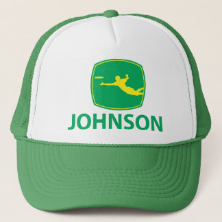 Johnson Deere w/Yellow Trucker Pet