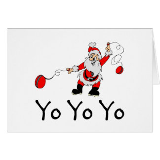 Jojo Yo de Kerstman Kaart