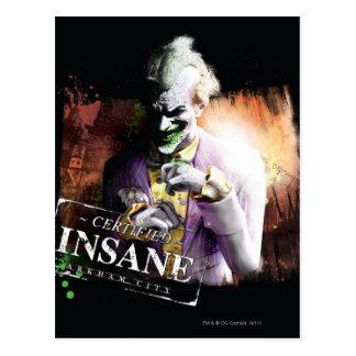 Joker - Verklaarde Krankzinnig Briefkaart