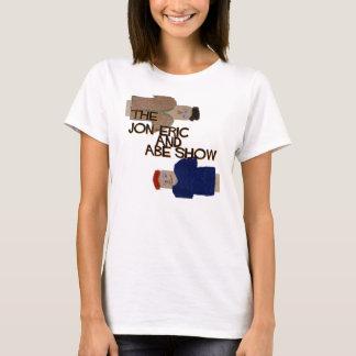 Jon & Abe zijdelings T Shirt