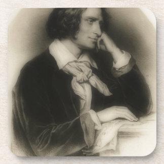 jong Franz Liszt - portret Bier Onderzetters