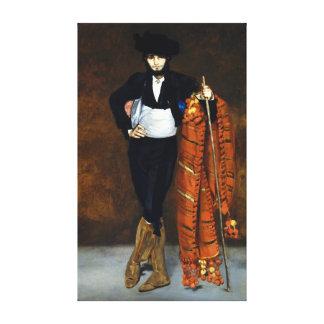 Jong Man Édouard Manet in het Kostuum van een Majo Canvas Afdruk