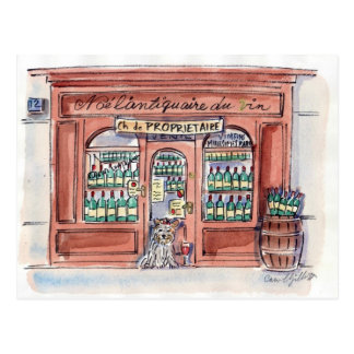 Jong op rue Malar, Parijs Briefkaart