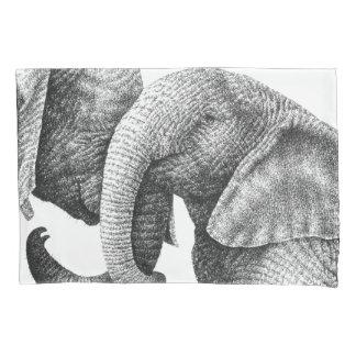 Jonge Afrikaanse Olifanten Kussensloop