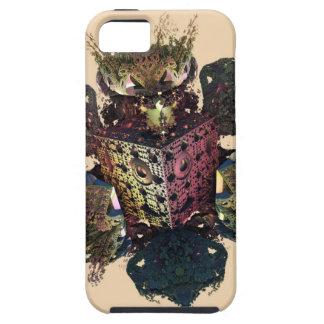 jonge haan fractal stijlcuscini e wallclock tough iPhone 5 hoesje
