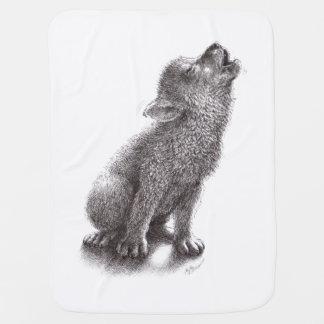 Jonge Huilende Wolf Babydoek
