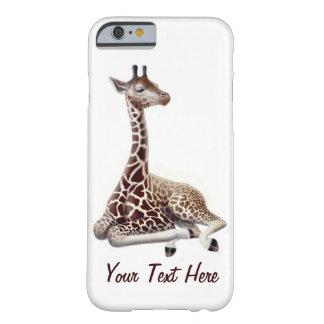 Jonge iPhone 6 van de Giraf onbeweeglijk Hoesje