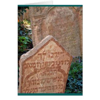 """Joodse Begraafplaats, Praag "" Briefkaarten 0"