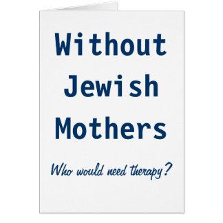 Joodse Moeders Wenskaart