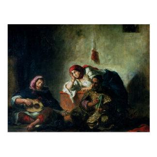 Joodse Musici in Mogador, 1847 Briefkaart