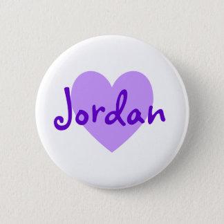 Jordanië in Paars Ronde Button 5,7 Cm