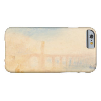 Joseph Mallord William Turner - de Brug van Moezel Barely There iPhone 6 Hoesje