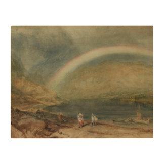 Joseph Mallord William Turner - de Regenboog Houten Canvas Prints