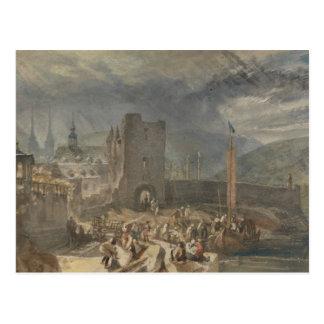 Joseph Mallord William Turner - een Uitzicht van Briefkaart