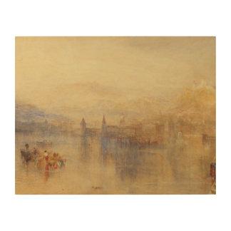 Joseph Mallord William Turner - Luzerne van Afdrukken Op Hout