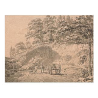 Joseph Mallord William Turner - Man met Paard Briefkaart