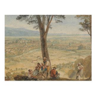 Joseph Mallord William Turner - Rome van Monte Briefkaart