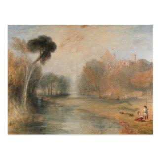 Joseph Mallord William Turner - Schloss Rosenau Briefkaart