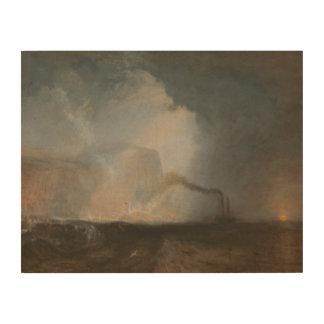Joseph Mallord William Turner - Staffa, Fingal Houten Canvas