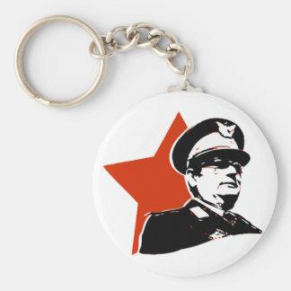 Josip Broz Tito Jugoslavija Basic Ronde Button Sleutelhanger