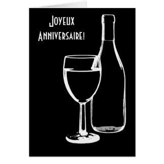 joyeux anniversaire/Gelukkige Verjaardag het Frans Briefkaarten 0