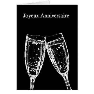 joyeux anniversaire/Gelukkige Verjaardag Wenskaart