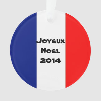 Joyeux Noel 2015 Ornament