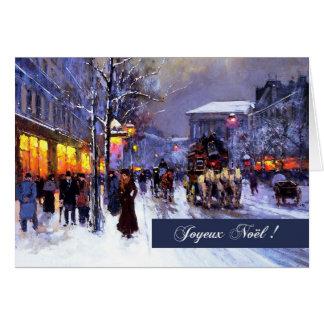 Joyeux Noël. De Franse Wenskaarten van Kerstmis