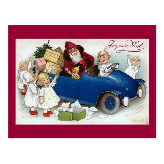 """""""Joyeux Noel"""" het Vintage Frans Briefkaart"""