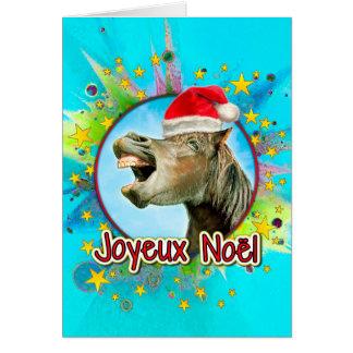 Joyeux Noël Kaart