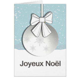 Joyeux Noel Notitiekaart
