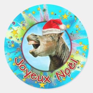 Joyeux Noël Ronde Sticker