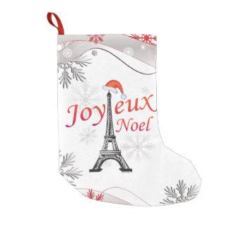 Joyeux Noel Small Kerstsok