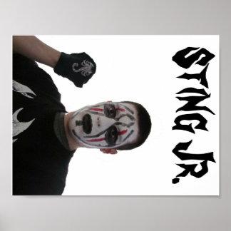 """Jr. 11"""" x 8.5"""" van Sting, het Document van het Poster"""