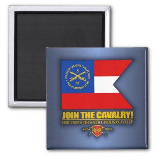 JTC (de 5de Cavalerie Zuid- van Carolina) Magneet