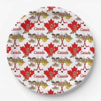 Jubileum 150 van het Blad van de esdoorn Canadees Papieren Bordje