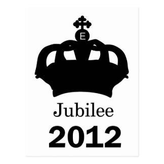 Jubileum 2012 briefkaart