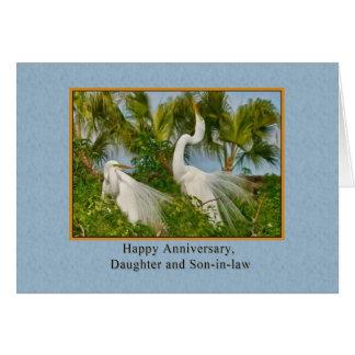 Jubileum, Dochter en Schoonzoon, Grote Aigrette Briefkaarten 0