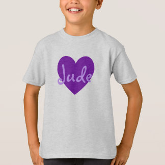 Jude in Paars T Shirt
