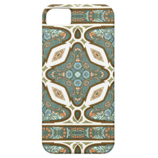 Jugendstil Alphonse Mucha Vintage Feather Barely There iPhone 5 Hoesje