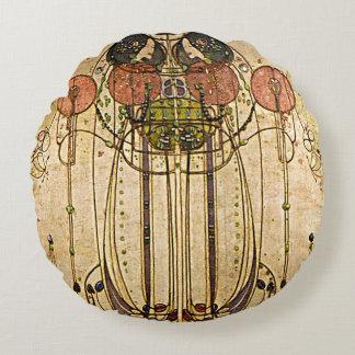 Jugendstil Charles Mackintosh Wassail Cushions Rond Kussen