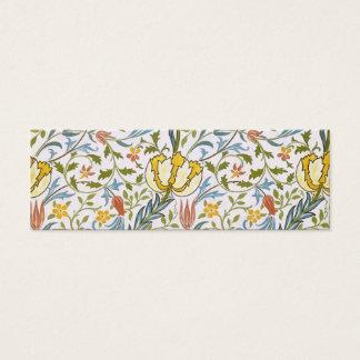Jugendstil van de Flora van William Morris de Mini Visitekaartjes