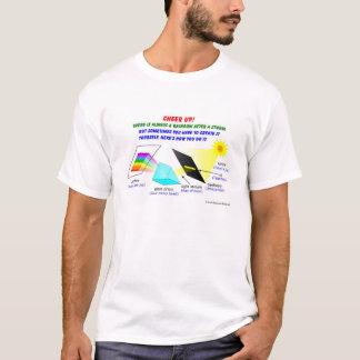 Juich omhoog toe, is er altijd een regenboog na t shirt