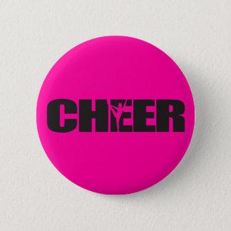 Juich toejuichen leider Cheerleading toe Ronde Button 5,7 Cm