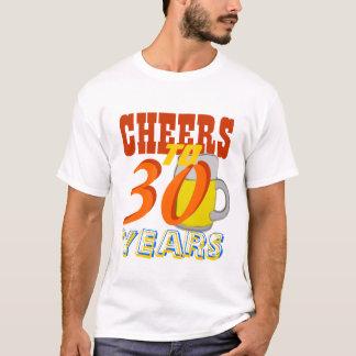 Juicht aan 30 van het Bier toe Jaar van de Partij T Shirt