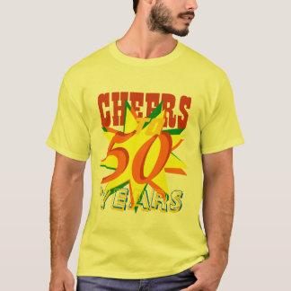 Juicht aan 50 Jaar van de Verjaardag toe T Shirt